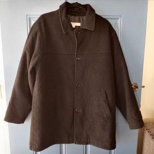 Perry Ellis black wool Coat